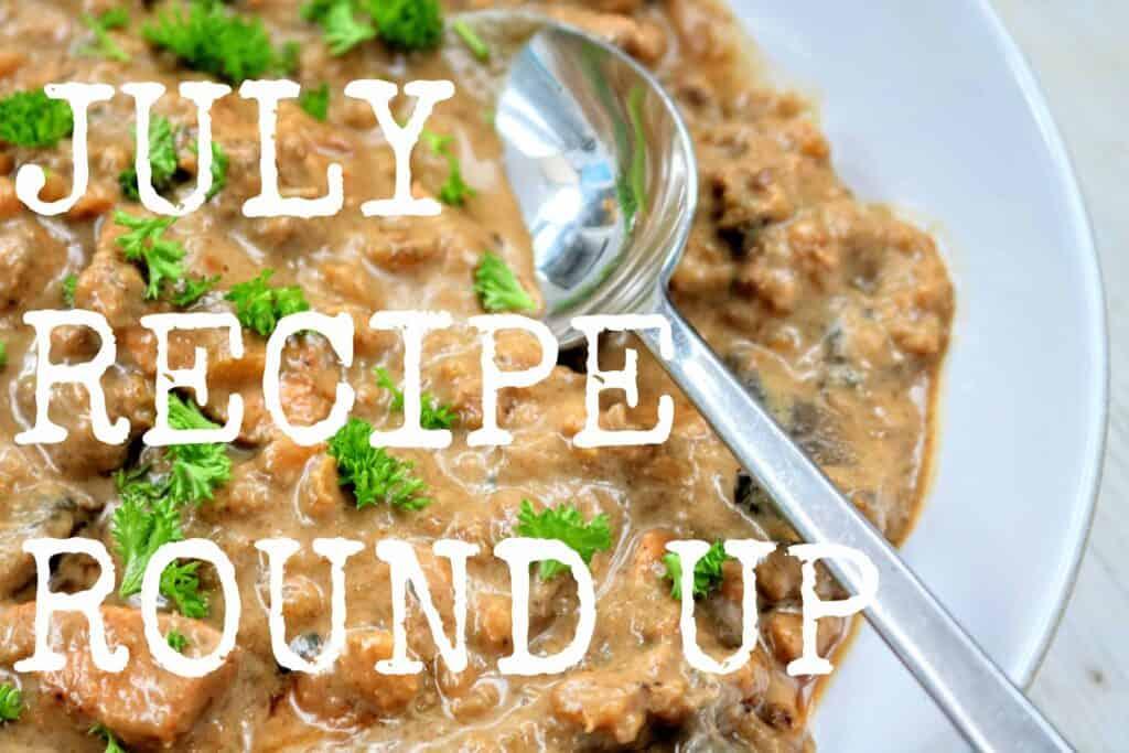Slimming World July Recipe Round Up