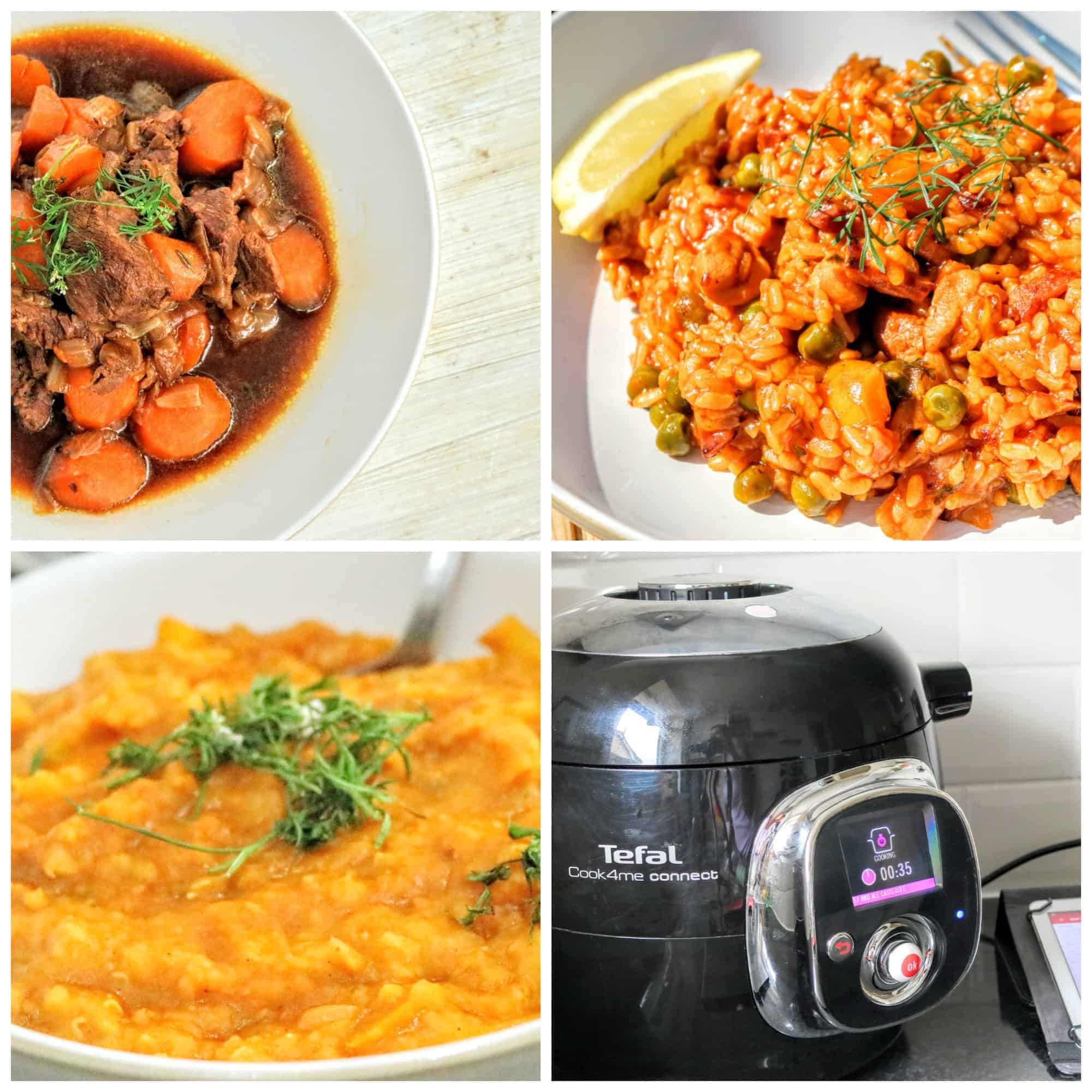 tefal cook4me connect meals