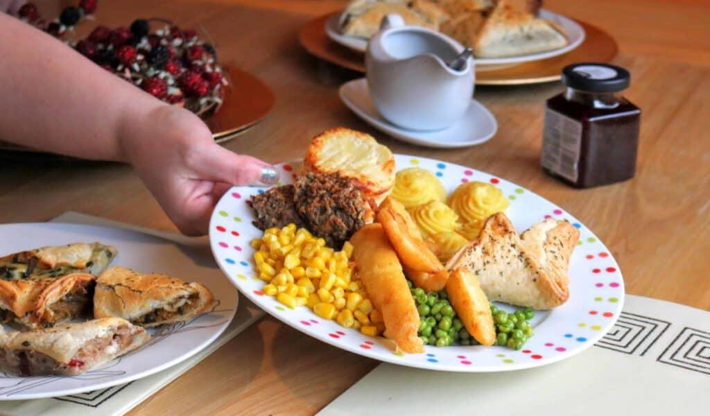 Vegetarian Christmas Dinner.A Lovely Lidl Vegetarian Christmas Dinner Lidlsurprises