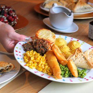 Lidl Deluxe Complete Vegetarian Christmas Dinner