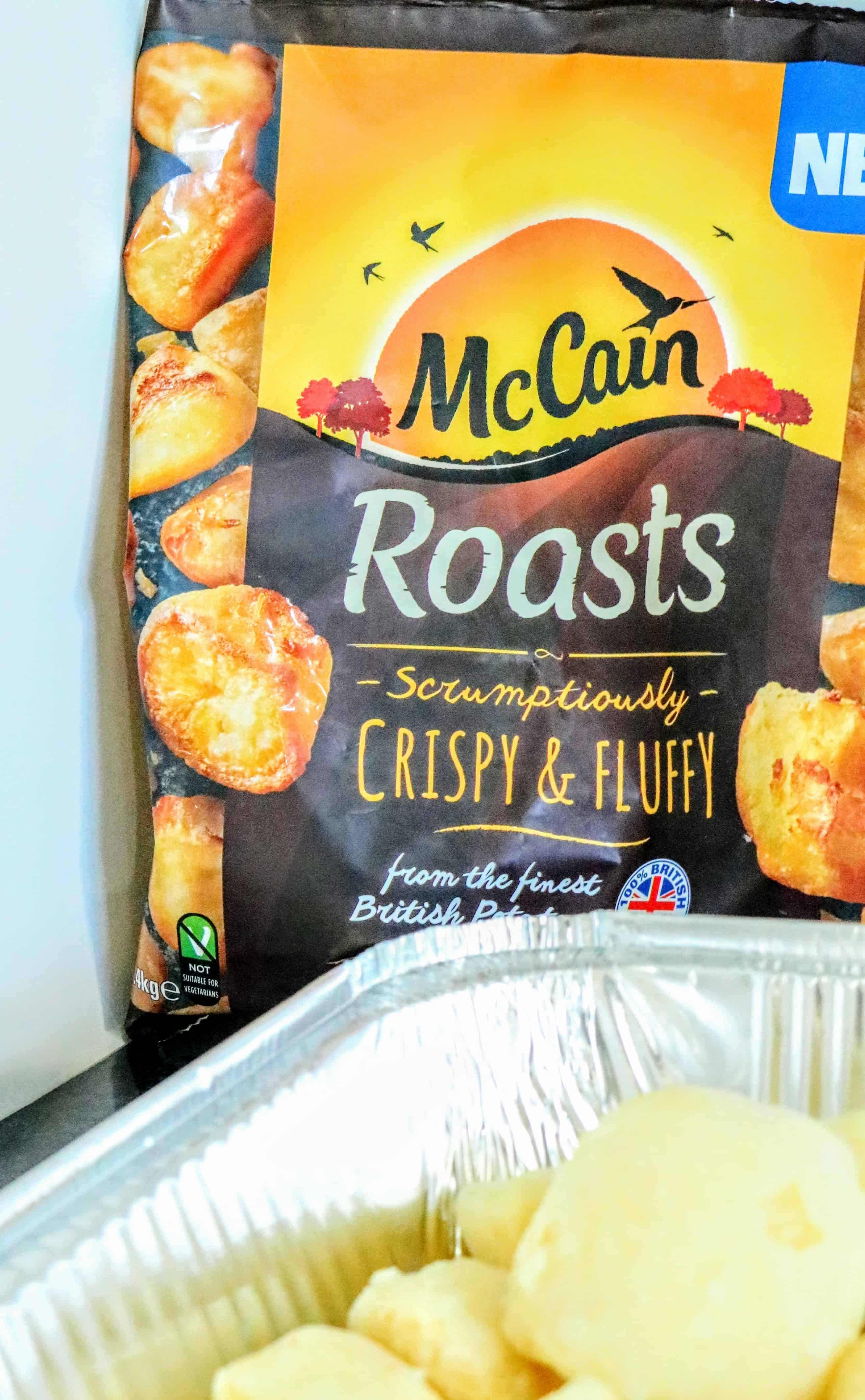 McCain Crispy & Fluffy Beef Roast Potatoes in Beef Dripping 2