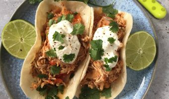 Slimming World Slow Cooker Syn Free Chicken Fajitas