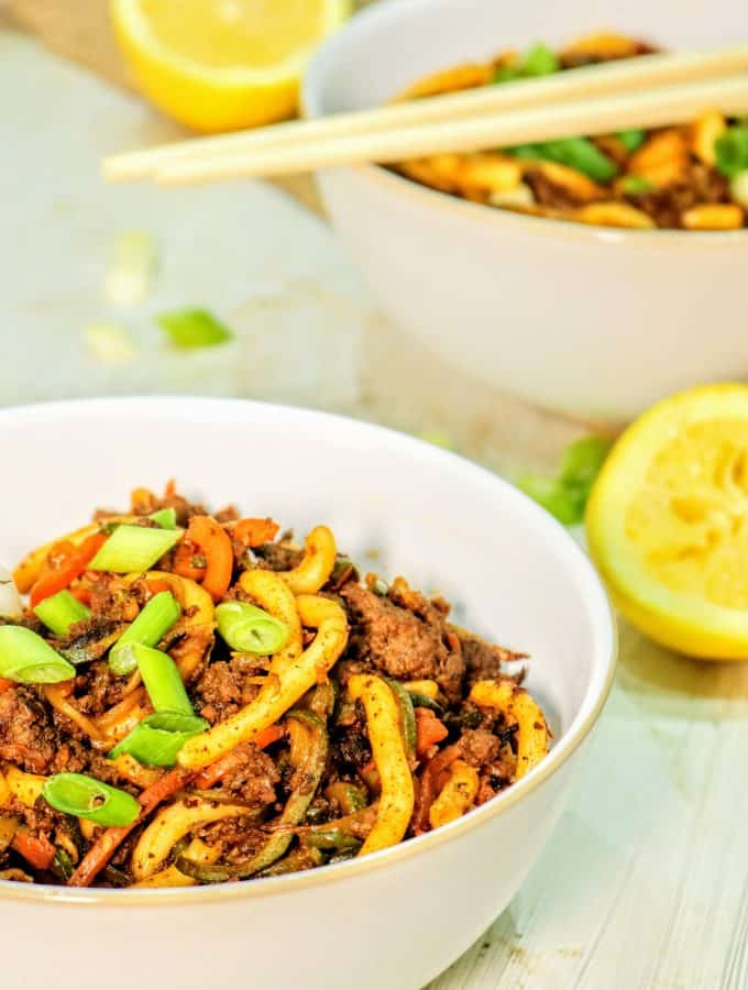 Slimming World Korean Crispy Beef With Noodles (1 Syn Each)