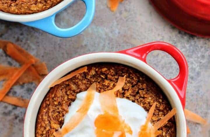 Slimming World Baked Carrot & Parsnip Oats