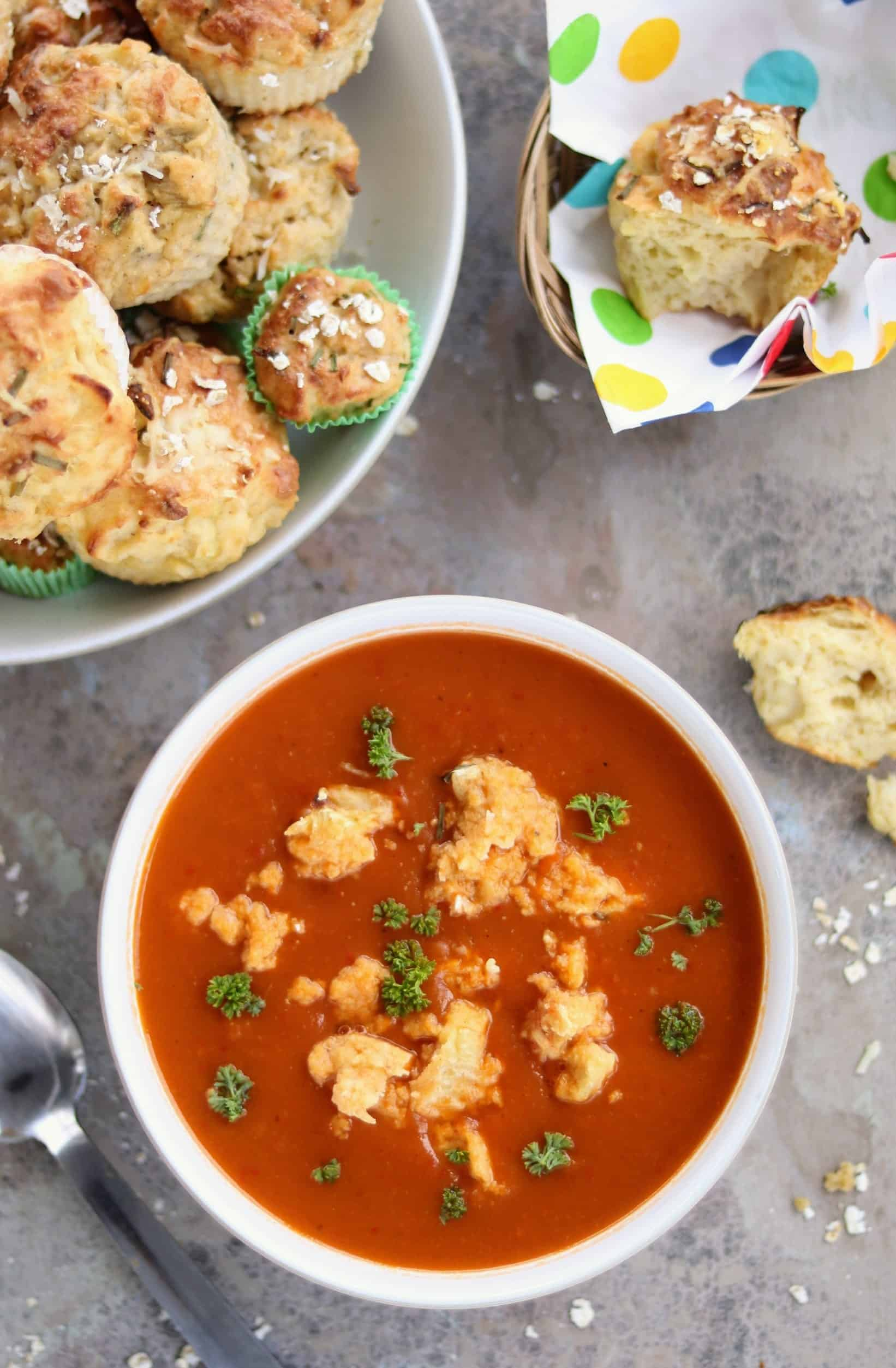 Slimming World Syn Free Butternut & Red Pepper Soup