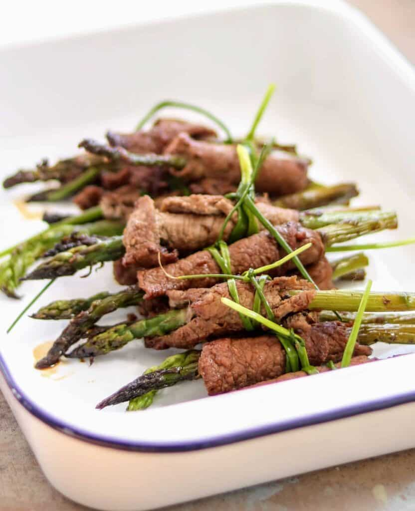 Slimming World Beef Asparagus Teriyaki Rolls (2.5 Syns The Lot)