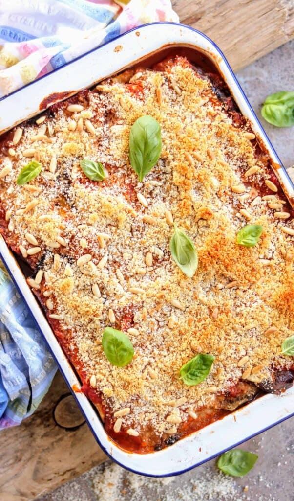 Authentic Amazing Melanzane Parmigiana Recipe