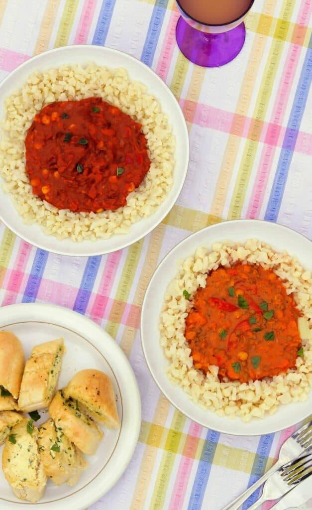 Slimming World Friendly Vegetarian GoodLife Ready Meals