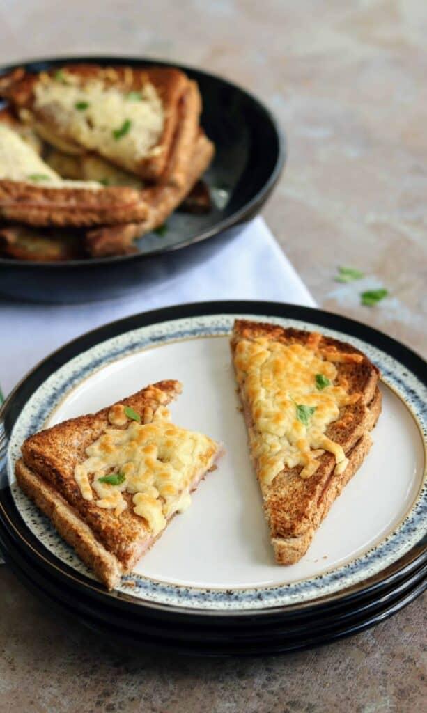 Slimming World Syn Free Croque Monsieur (Cheese & Ham Sandwich)