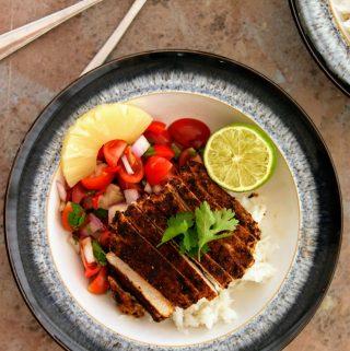 Slimming World Syn Free Caribbean Pork Medallions & Fruity Salsa
