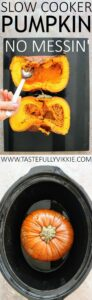 How to Easily Cook a Whole Pumpkin in the Slow Cooker