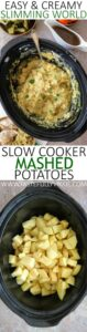 Slimming World Easy Slow Cooker Mashed Potatoes