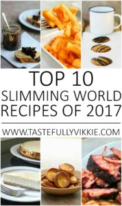 Top 10 Most Popular Slimming World Recipes of 2017
