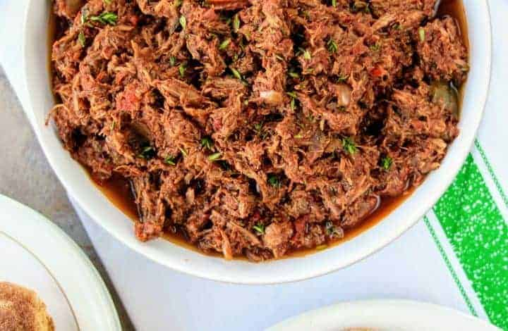 Slimming World Syn Free Slow Cooker Pulled Beef