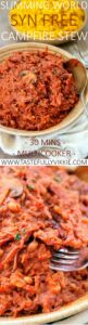 Slimming World Syn Free Multicooker campfire stew -min