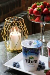 arla fibre yogurt press day