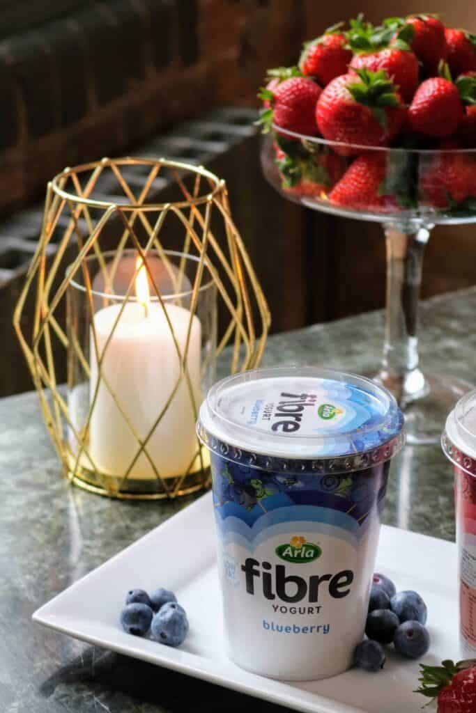arla fibre yogurt press day