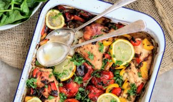 Slimming World Syn Free Mediterranean Chicken Traybake