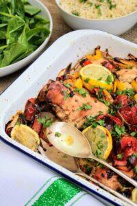 Slimming World Syn Free Mediterranean Chicken Traybake