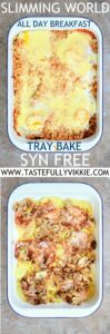 Slimming World Syn Free All Day Breakfast Traybake