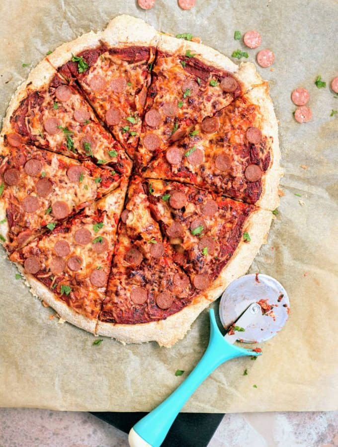 Slimming World 1 Syn Per Quarter Pepperoni Pizza Fakeaway