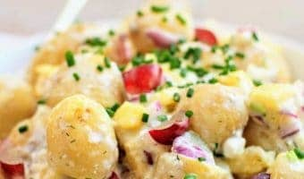 Slimming World Syn Free Fruity Jersey Royal Potato Salad