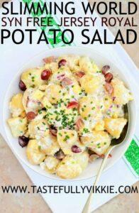 Slimming world syn free fruity jersey royal potato salad