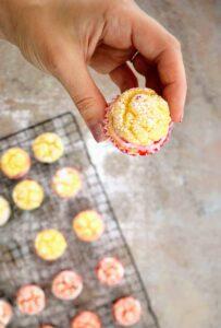 Slimming World 1 Syn Strawberry & Coconut Victoria Sponge Cupcake Cake