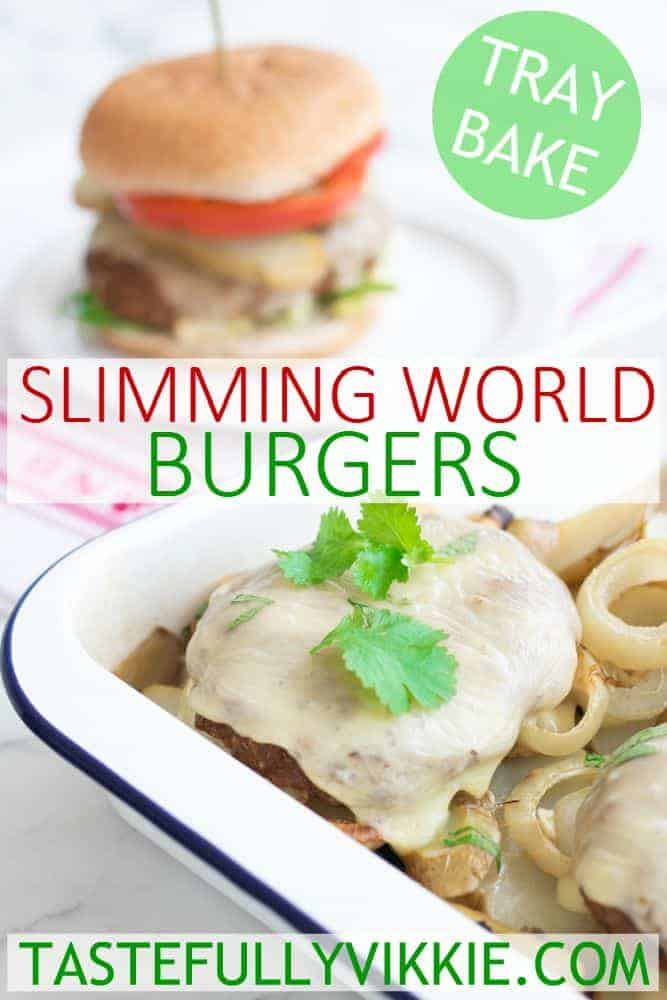 How to make homemade burgers slimming world