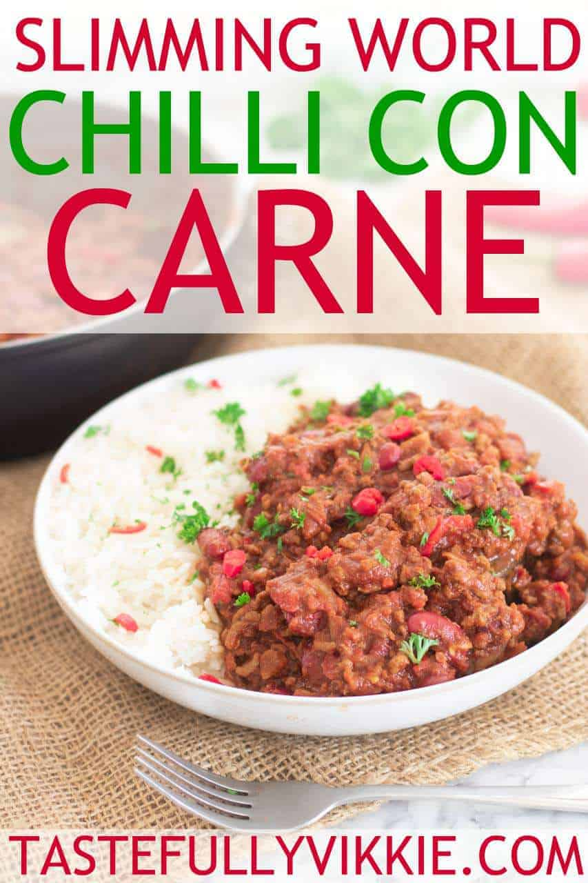 How to make Slimming World chilli con carne in a pan.