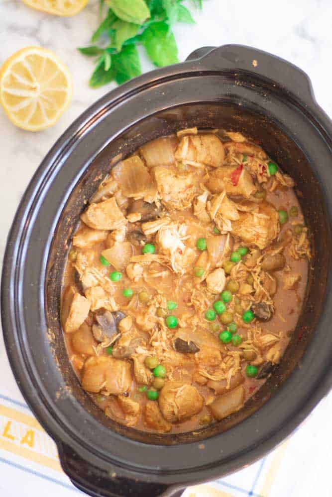 Slimming World Chicken Curry Slow Cooker Syn Free